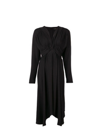 Robe midi noire Isabel Marant