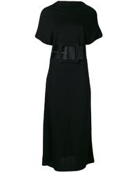 Robe midi noire Maison Margiela