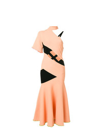 Robe midi orange Proenza Schouler