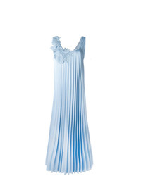 Robe midi plissée bleu clair P.A.R.O.S.H.
