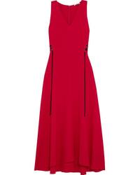 Robe midi rouge original 9932818