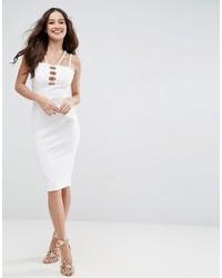 Robe moulante blanche Asos