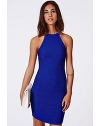 Robe moulante bleue original 1382235
