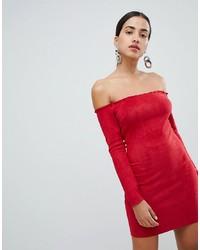 Robe moulante rouge AX Paris