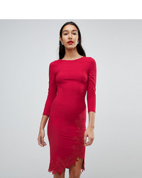 Robe moulante rouge Little Mistress Tall