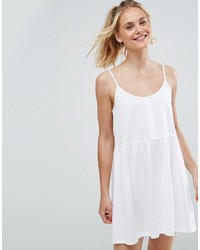 Robe nuisette blanche Asos