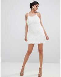 Robe nuisette blanche Glamorous