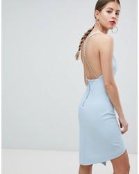Robe nuisette bleu clair Missguided