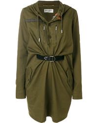 Robe olive Saint Laurent