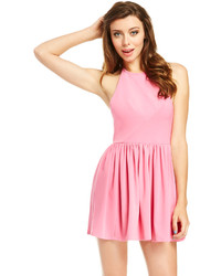 Robe patineuse rose original 1425075