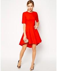 longue robe rouge asos la mode des robes de france. Black Bedroom Furniture Sets. Home Design Ideas