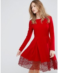 Robe patineuse rouge Traffic People
