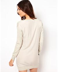 Robe-pull beige Asos