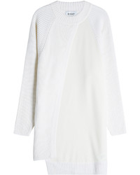 Robe-pull blanche