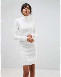 Robe-pull blanche Boohoo