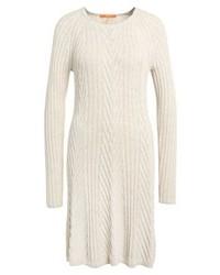Robe-pull blanche Hugo Boss