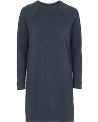 Robe-pull bleu marine