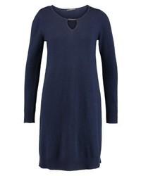 Robe-pull bleue marine Esprit