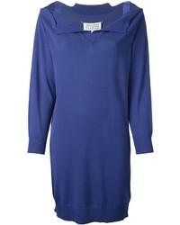 Robe-pull bleue Maison Margiela