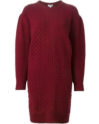 Robe pull bordeaux original 10228096
