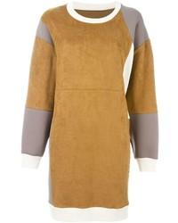Robe-pull brune claire MM6 MAISON MARGIELA