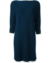 Robe-pull en tricot bleu marine Twin-Set