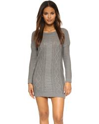 Robe-pull en tricot grise BB Dakota