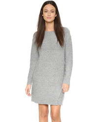 Robe-pull en tricot grise Club Monaco