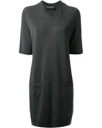 Robe-pull gris foncé Dolce & Gabbana