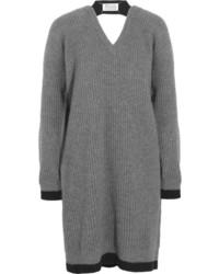 Robe-pull gris foncé Maison Martin Margiela