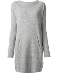 Robe-pull grise
