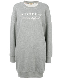 Robe-pull grise Burberry