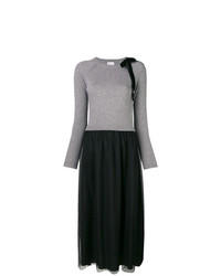 Robe-pull grise RED Valentino
