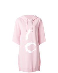 Robe-pull imprimée rose MM6 MAISON MARGIELA