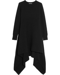 Robe-pull noire Alexander McQueen
