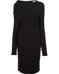 Robe-pull noire Lanvin