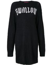 Robe-pull noire MCQ