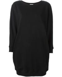 Robe-pull noire Saint Laurent