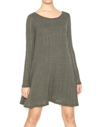Robe-pull olive