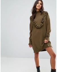 Robe-pull olive Vero Moda