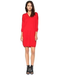 Robe-pull rouge