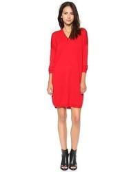 Robe pull rouge original 10228216