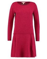 Robe-pull rouge Esprit