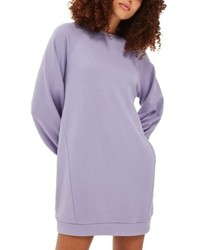 Robe-pull violet clair