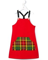 Robe rouge Junior Gaultier