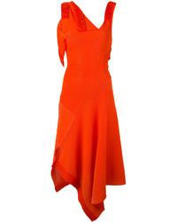 Robe rouge Victoria Beckham