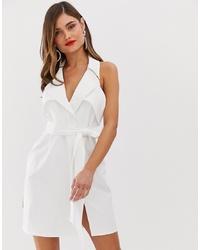 Robe smoking blanche ASOS DESIGN