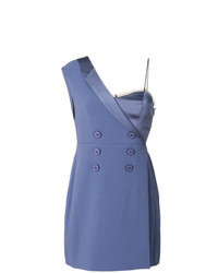 Robe smoking bleue