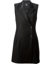 Robe smoking noire