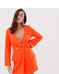 Robe smoking orange ASOS DESIGN